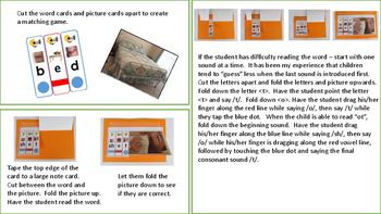 Letter Sound Blending Cards Level Four