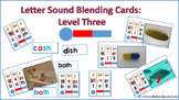 Letter Sound Blending Cards Level Three