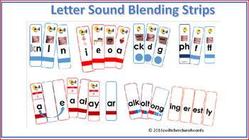 Letter Sound Blending Strips