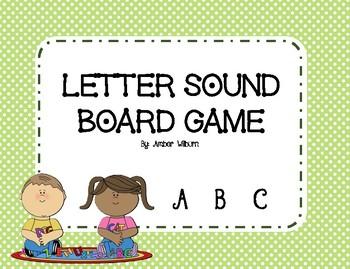 Letter Sound Board Game