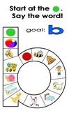 Letter Sound Board Game - B