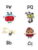 Letter Sound Book for use with Discovery Toys 'Alphabet Sounds' song