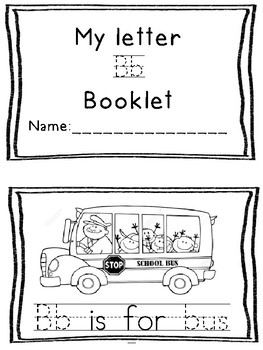 Letter Sound Booklets