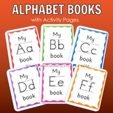 Alphabet Letter Sound Books and Activity Sheets