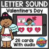 Letter Sound Boom Cards | Valentine's Day Boom Cards Dista