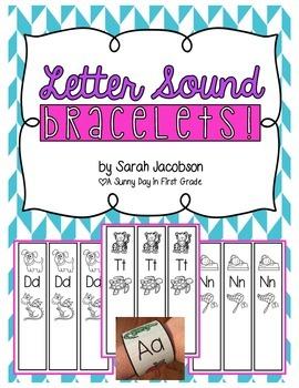 Letter Sound Bracelets!