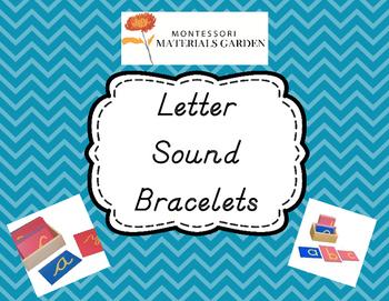 Letter Sound Bracelets