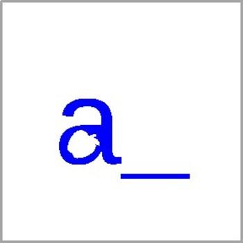 Letter Sound Cards A-Z Grapheme/Phoneme