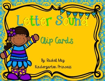 Letter Sound Clip Cards