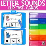 Beginning Letter Sounds | Task Cards