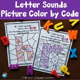 Letter Sound Color by Code