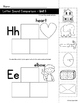 Letter Sound Comparison Sorts (Reading Wonders Kindergarten Units 5 and 6)