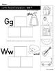 Letter Sound Comparison Sorts (Reading Wonders Kindergarten Units 7 and 8)
