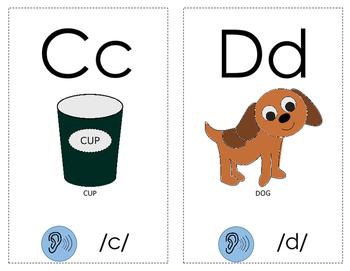 Letter-Sound Correlation Cards