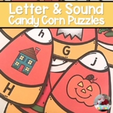 Candy Corn Puzzles- Letters and Sounds