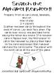 Letter-Sound Correspondence Game! Snatch the Alphabet Reindeer! Orton-Gillingham