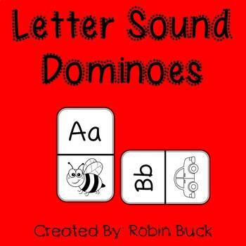 Letter Sound Dominoes
