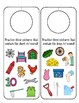 Speech Therapy Articulation Letter/Sound Picture Door Hangers
