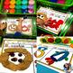 Letter Sound Dough Mat Activity: Preschool/Pre-K/Kindergarten