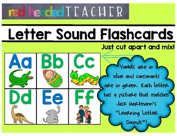 Alphabet Letters - Letter Sound Flashcards