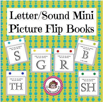Letter/Sound Mini Picture Flip Books