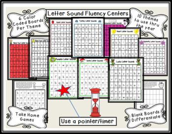 Letter Sound Fluency Bundle
