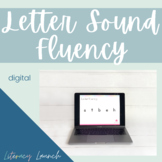 Letter & Sound Fluency Freebie {DIGITAL}
