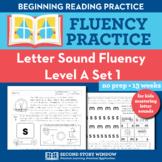 Letter Sound Beginning Sound Fluency Level A1 - Pre-Readin