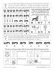 Letter Sound Beginning Sound Fluency Practice Level B Set 2