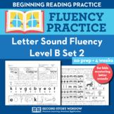 Letter Sound Beginning Fluency Practice Level B Set 2 - Pr