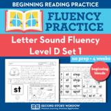 Letter Sound Consonant Blend Fluency Practice D1 - Pre-Rea
