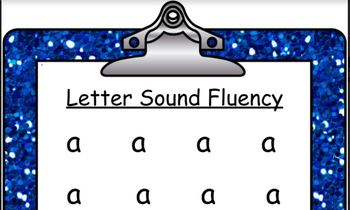 Letter Sound Fluency  Sound /a/ Read Along with Me!