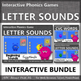 Letter Sound Fun! Beginning, Ending & Short Vowels {Intera