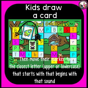 Letter Sound Game-Targeted Consonants Set 1