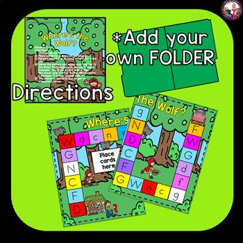 Letter Sound Game! Targeted Consonants Set 2