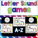 Letter Sound Games A-Z