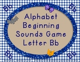 Letter Sound Games Bb