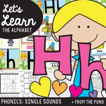 Alphabet Beginning Sounds {Letter Sound Hh}