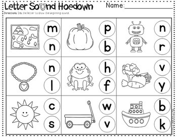 beginning sounds centers activities by the printable princess tpt. Black Bedroom Furniture Sets. Home Design Ideas