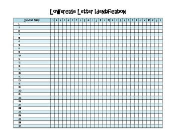 Letter Sound ID Data Collection