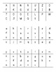 Letter Sound Identification & Fluency Tracker (for use with DIBELS/DIBELS Next)