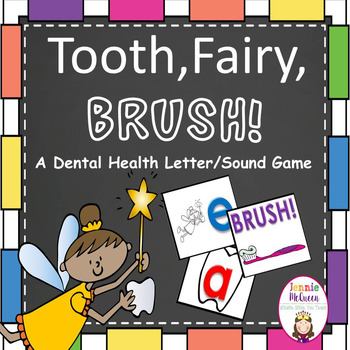 Dental Health Alphabet Phonics Game