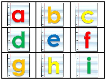 Alphabet Phonics Game: Perfect for Back to School!