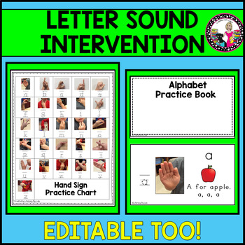 Letter-Sound Intervention!  Tucker Signing with Dr. Jean's Alphardy Song!