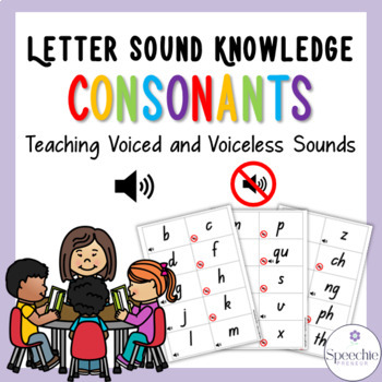 Letter Sound Knowledge - Consonants - Teaching voiced and voiceless sounds
