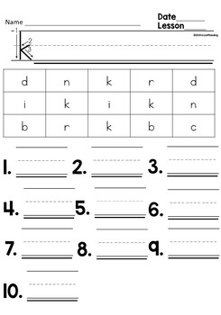 First Grade Letter Sound Interventions for Sound Symbol Fluency