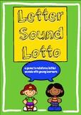 Letter Sound Lotto