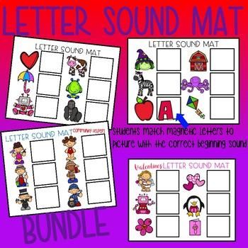 Letter Sound Mat Bundle