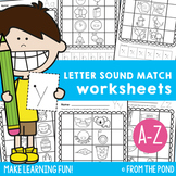 Letter Sound Match Worksheets