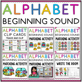 Letter Sound Matching - Initial Sound Activities BUNDLE